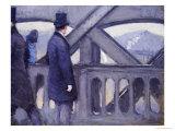 Le Pont De L'Europe Prints by Gustave Caillebotte
