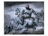 A Scene from the Colonial War: A Negro on a Rearing Horse Giclee Print by Jean-louis-andre-theodore Gericault