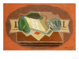 The Packet of Tobacco Print by Juan Gris