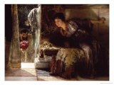Welcome Footsteps (Well-Known Footsteps) Premium Giclee Print by Sir Lawrence Alma-Tadema