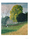 The Green Tree, Cagnes Giclee Print by Félix Vallotton