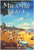 Miramar Beach, Montecitos Affiches par Kerne Erickson