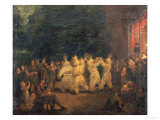 The Harvest Dance at Rosanna, Co.Wicklow Giclee Print by Maria Spilsbury