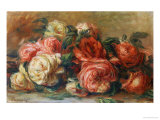 Discarded Roses Plakater af Pierre-Auguste Renoir