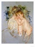"""A Study for """"Le Dos Nu"""" Impression giclée par Mary Cassatt"""