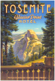 Yosemite, Glacier Point Hotel Plakater af Kerne Erickson