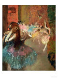 Scene De Ballet or Balleteuses Prints by Edgar Degas