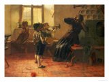 The Concert Giclee Print by Georg Jakobides