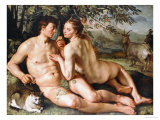 The Fall of Man Giclee Print by Hendrik Goltzius