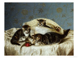 Kittens up to Mischief Posters by Horatio Henry Couldery
