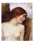 Study for the Head of Echo Giclee Print by John William Waterhouse