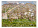 Hamlet on the Cliffs Near Giverny 1883 Prints by Claude Monet
