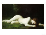 Biblis Changing into a Fountain Giclee Print by Abel Pujol