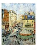 La Rue De Clignancourt, 1924 Prints by Gustave Loiseau