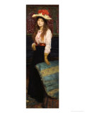 Portrait of Miss MacWirter, Small Full Length in an Interior Prints by Sir Lawrence Alma-Tadema