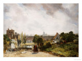 View of the City of London from Sir Richard Steele's Cottage, Hampstead Prints by John Constable