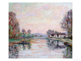 The Seine at Samois, La Seine a Samois, circa 1900 Prints by Armand Guillaumin