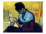 A Novel Reader Giclée-tryk af Vincent van Gogh