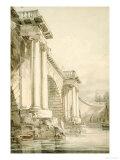 Old Blackfriars Bridge, London Prints by William Turner