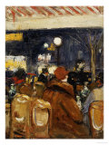 In the Cafe Giclee Print by Lesser Ury