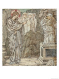 The Raising of Lazarus Art by Edward Burne-Jones