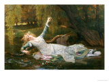 Ophelia Giclee Print by Alexandre Cabanel