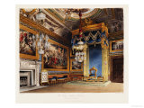 The King's Audience Chamber, Windsor Castle Giclee Print by T. Sutherland