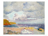 Before the Thunderstorm (The Bather) Prints by Henri Edmond Cross