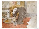 Femme Au Tub, from Elles Pósters por Henri de Toulouse-Lautrec
