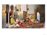 The Harem Dance Giclee Print by Giulio Rosati