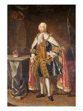 Portrait of Frederick, Prince of Wales (1707-1751) Giclée-Druck von Jean Baptiste Van Loo