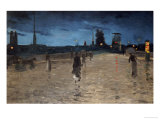 Le Pont De Pierre, Rouen Giclee Print by Charles Angrand