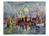 La Salute Prints by Paul Signac