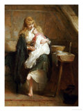 The Orphans Giclee Print by George Elgar Hicks