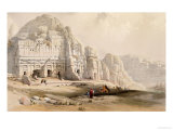 Petra, March 8th, 1839 Premium Giclee Print by David Roberts
