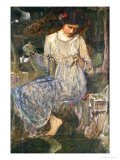 The Necklace Giclee Print by John William Waterhouse