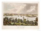 North View of Sidney, New South Wales Giclee Print by Joseph Lycett