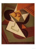 The Fruitbowl Premium Giclee Print by Juan Gris