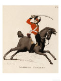 Lambeth Cavalry Poster by Thomas Rowlandson