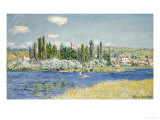 Vétheuil Reproduction procédé giclée par Claude Monet