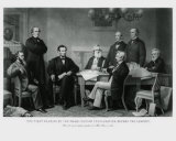 President Lincoln's First Reading of the Emancipation Proclamation Photo