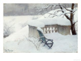 Elbpark, Hamburg Giclee Print by Fritz Thaulow