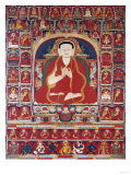 An Important Tibetan Thang.ka Depicting Bkra.Shis.Dpal circa 1300 Print