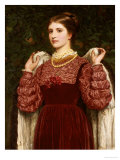 Dressing Up Giclee Print by Charles Perugini