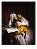News from Sebastapol Giclee Print by Charles West Cope