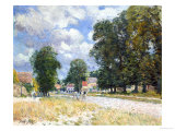 The Road to Marly-Le-Roi Giclee Print by Alfred Sisley