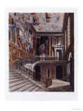 Grand Staircase, Hampton Court Prints by William Henry Pyne