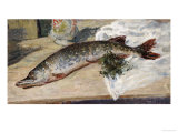 The Pike (Le Brochet) 1888 Posters by Alfred Sisley