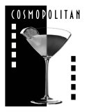 Cosmopolitan (B&W) Photographic Print by Heather Lee