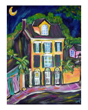 Garden District Peace Giclee Print by Angel Turner Dyke